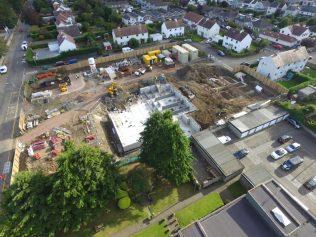 Constructions begins at Cramond